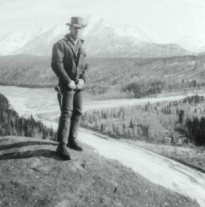 My father in Alaska 1961